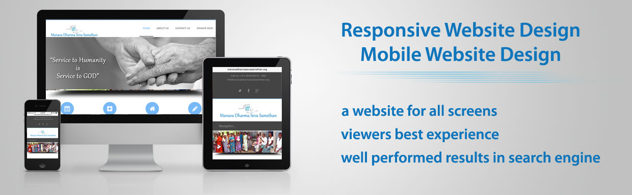 Responsive Web Design, Maintenance Company Hyderabad India